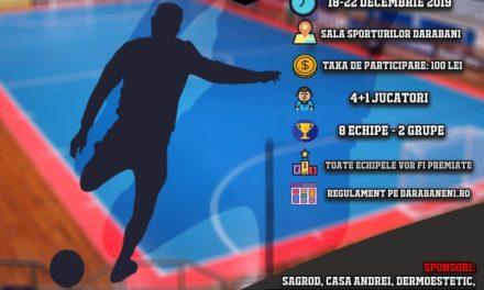 CUPA NORDULUI, o nouă competiție de futsal la Darabani! VEZI regulamentul