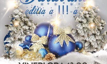 """Festivalul Internațional de datini și obiceiuri de iarnă """"Colinda de la Darabani""""."""
