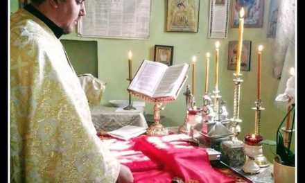 Preotul paroh Daniel Lucian Cojocaru  a plecat să slujească la cele veșnice