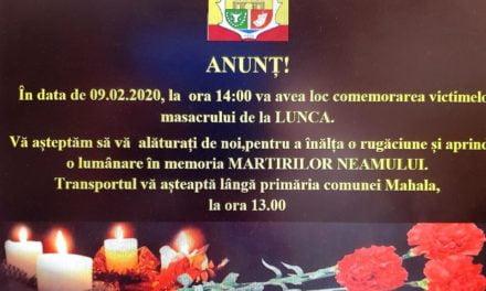 Comemorarea masacrului din Lunca Prutului – februarie 1941