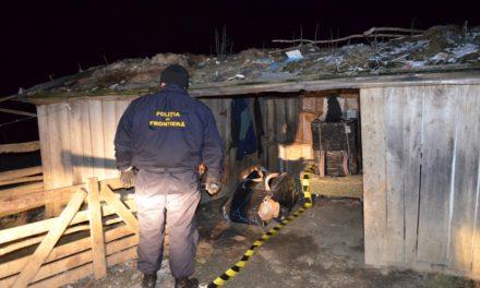 Țigări confiscate în zona de frontieră Baranca Hudești Foto & Video
