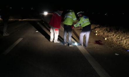 ACCIDENT MORTAL LA INTRARE ÎN LOCALITATEA DUMBRĂVIŢA FOTO &VIDEO