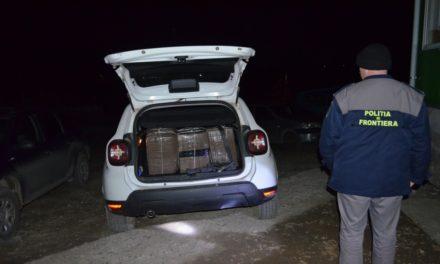Ţigări de peste 51.000 lei confiscate în zona  localităţii de frontieră Oroftiana