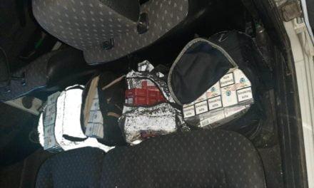 Auto încărcat cu ţigări de contrabandă, interceptat la Dorohoi
