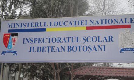 Programul ISJ Botoșani