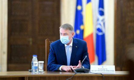 Klaus Iohannis, o nouă declarație. Masca de protecție, obligatorie după 15 mai