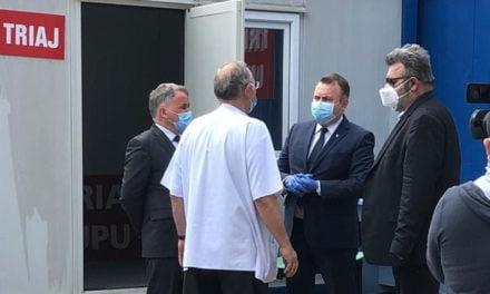 Ministrul Sănătății a ajuns la Botoșani