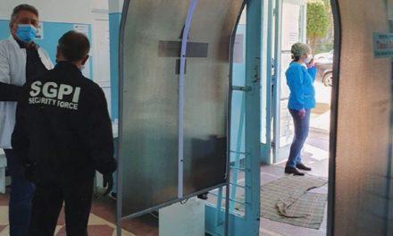Trei tuneluri de dezinfecţie instalate în Spitalul Municipal Dorohoi, exclusiv din donaţii
