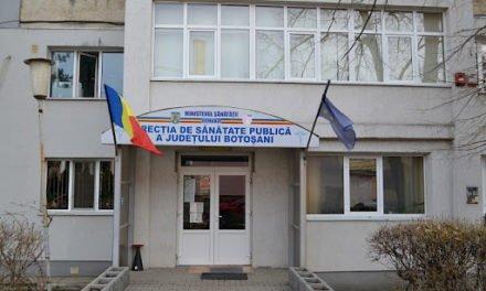 Direcția de Sănătate Publică,  județul Botoșani date centralizate 9 Aprilie 2020