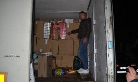 Țigari de  contrabandă în valoare de aproape 1.400.000 lei, oprite la frontiera de est ****Foto****