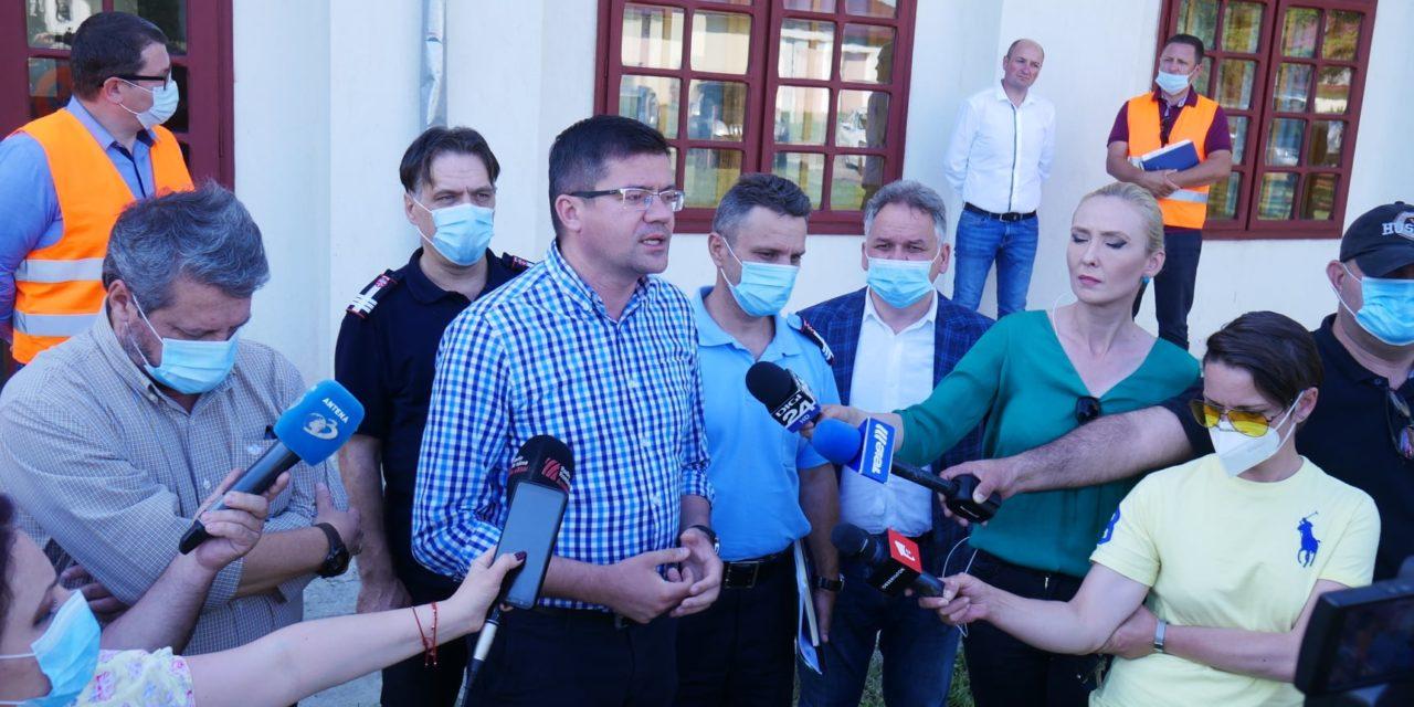 Mediului, Apelor și Pădurilor, Costel Alexe a fost prezent într-o vizită de lucru Rădăuți Prut si Stânca Costești &Video
