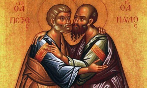 Astăzi credincioșîi ii sărbătoresc pe sfinții Petru și Pavel