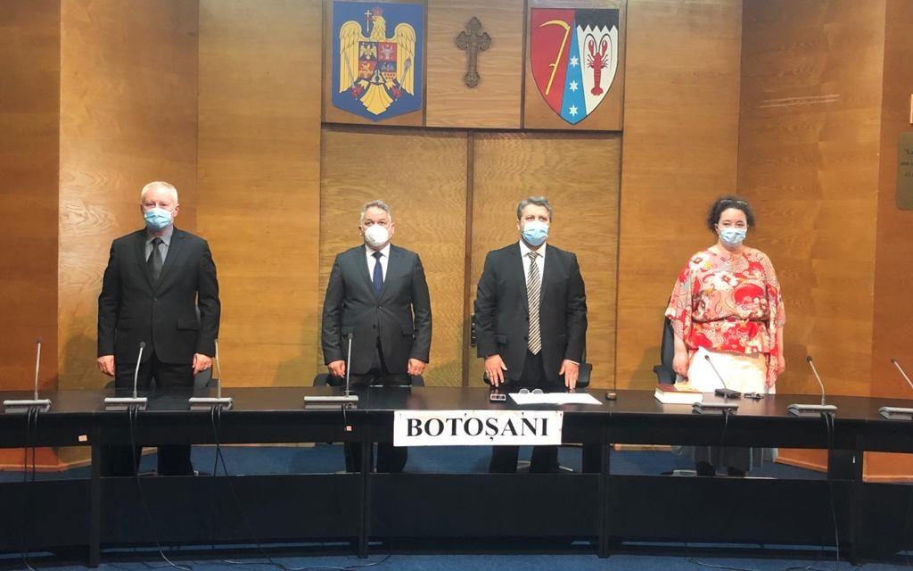 Astăzi, 13 Iunie, la Instituția Prefectului, a avut loc învestirea celui de-al doilea subprefect de Botoșani.