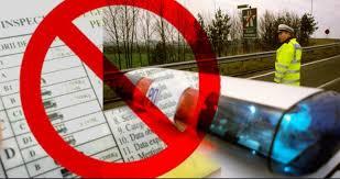 Bărbat din Suharău prins cu permisul de conducere suspendat