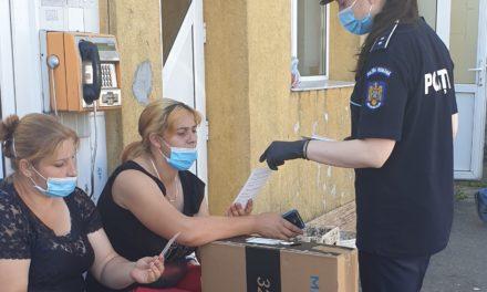 Activități de prevenire a traficului de persoane si violentei impotriva femeii derulate de polițiști