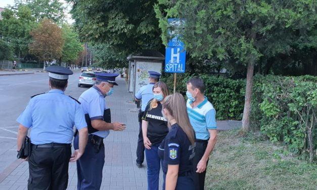 Noi actiuni anti covid 19 terasele și zonele pietonale din Botosani verificate de politiști și jandarmi