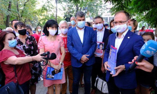 Președintele PSD Marcel Ciolacu a fost prezent, azi, la Botoșani