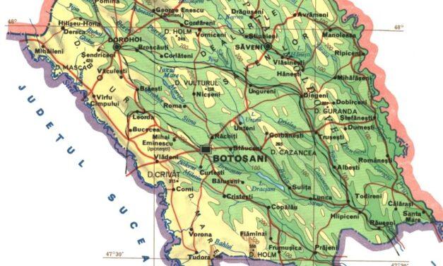 Lista cu localitățile din județul Botoșani afectate de coronavirus