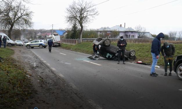 Accident grav la ieșirea din Darabani spre Bajura Foto@ Video