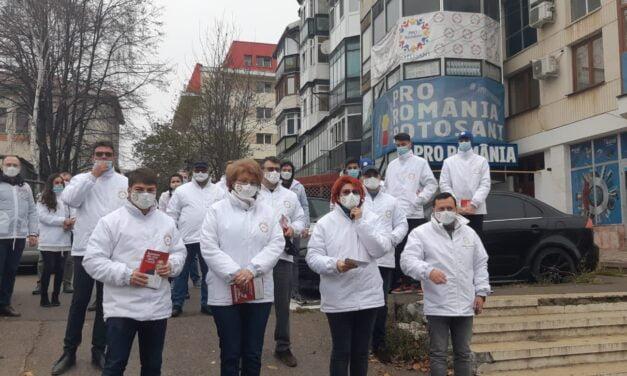 Candidații PRO România pentru Camera Deputaților și Senat în campanie la Botoșani