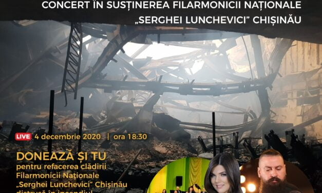 #RenaștemÎmpreună, un concert caritabil al Filarmonicii George Enescu Botoșani, în sprijinul prietenilor de peste Prut