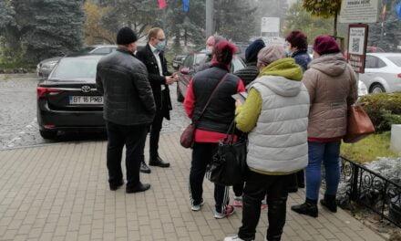 Comercianți din Piața Centrală Botoșani au purtat discuții cu primarul Cosmin Andrei