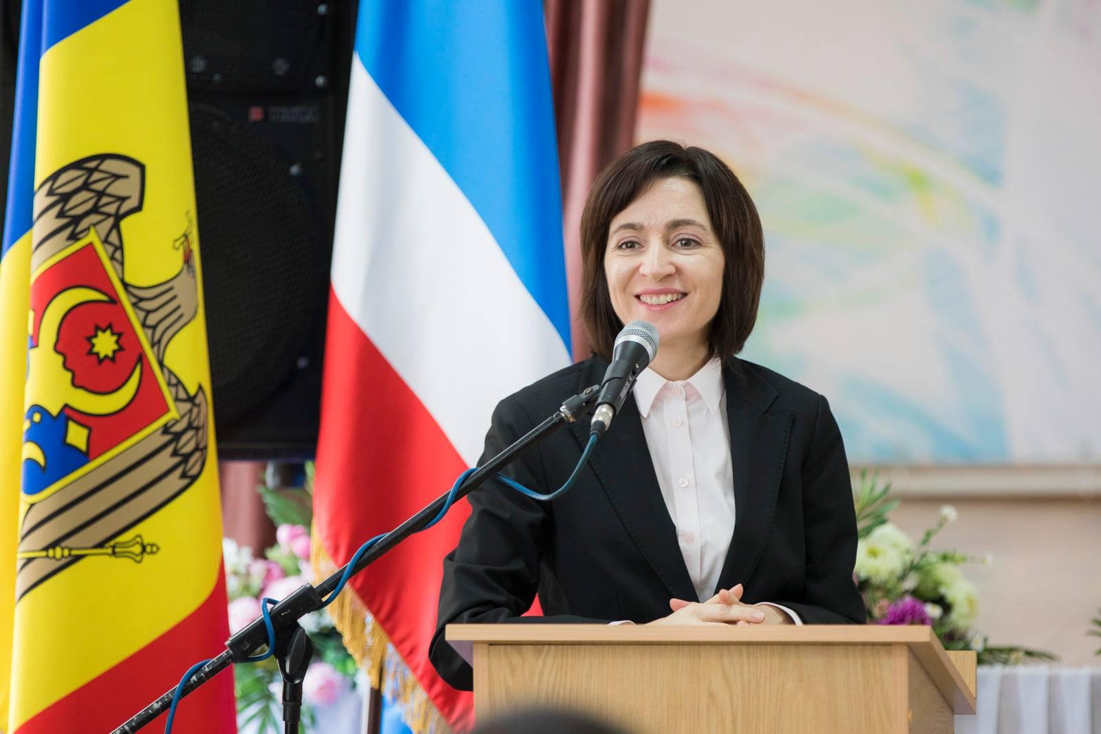 Maia Sandu a fost învestită în funcţia de preşedinte al Republicii Moldova