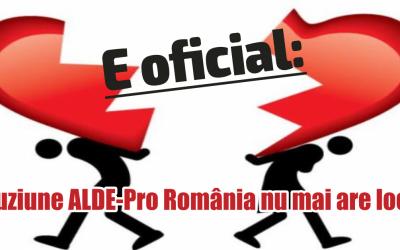 Congresul extraordinar al ALDE a decis întreruperea demersurilor de fuziune cu PRO România