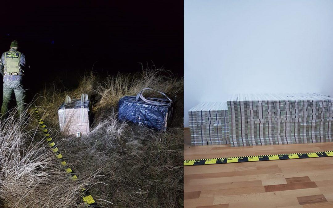 Ţigarete de contrabandă de peste 62.000 de lei, descoperite la frontiera de est