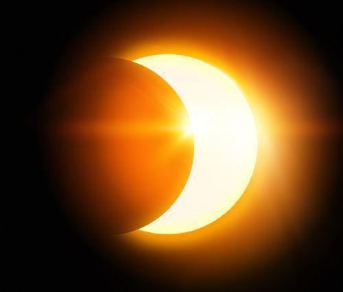 Eclipsă parțială de soare pe data de 10 iunie 2021