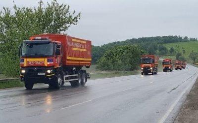 11 camioane cu ajutoare umanitare din partea României au intrat în Cernăuți