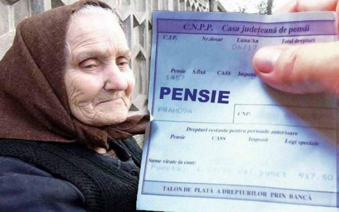 Legea pensiilor modificată