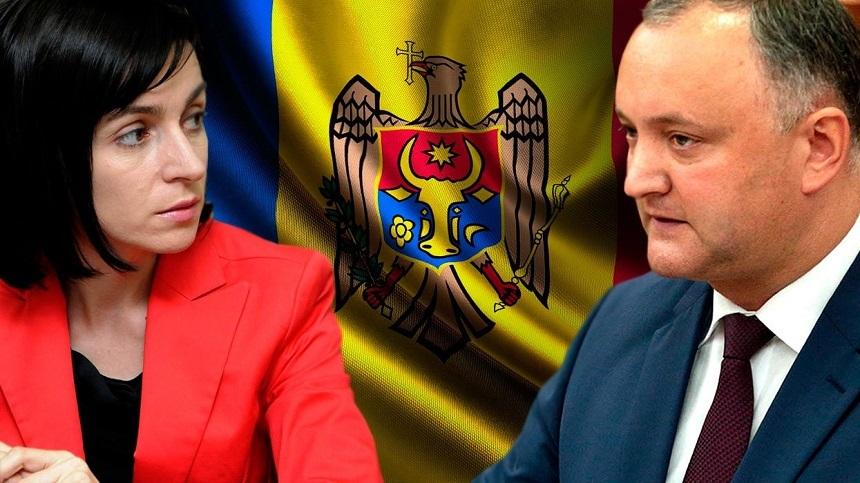 Partidul Maiei Sandu a câștigat detașat în fața prorușilor conduși de Dodon și Voronin
